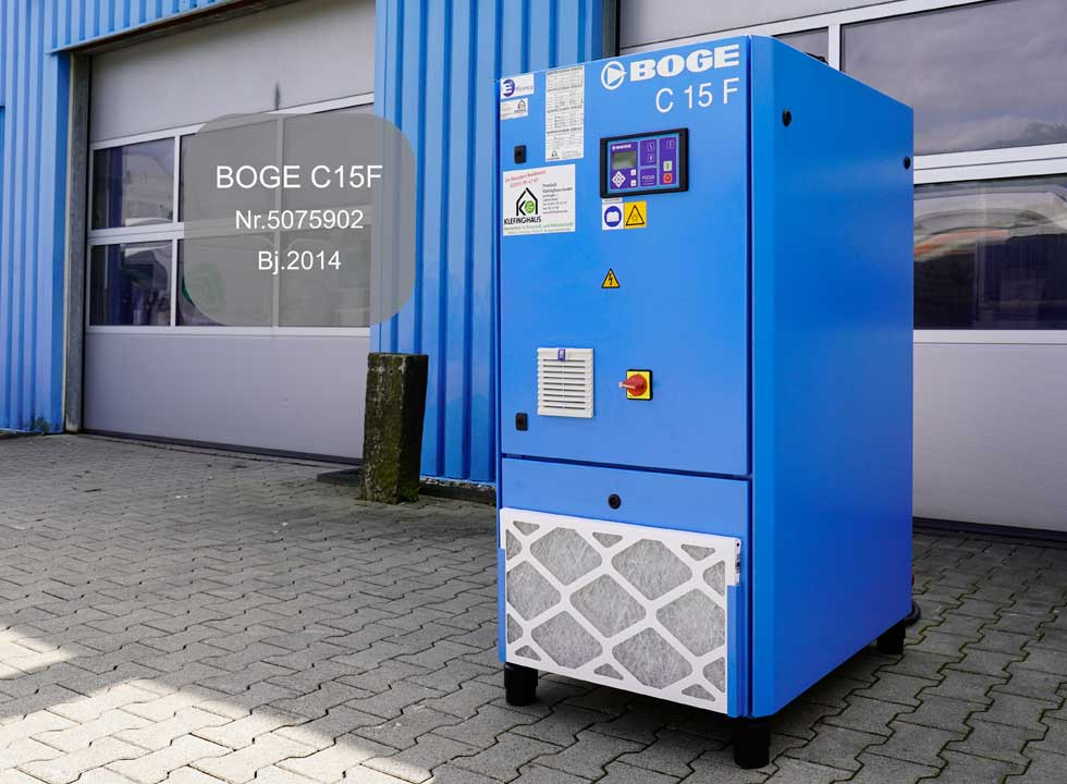 BOGE Kompressor C 15 F