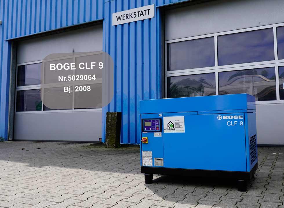 BOGE Kompressor CLF 9
