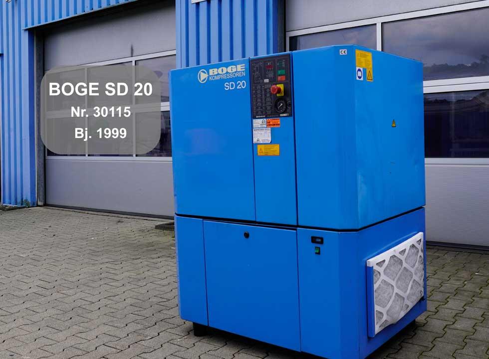 BOGE Kompressor SD 20