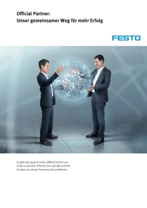 Broschüre Festo Official Partner