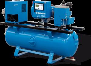 BOGE-Druckluft-Zentrale C 4 LDR 160 luftgekühlt