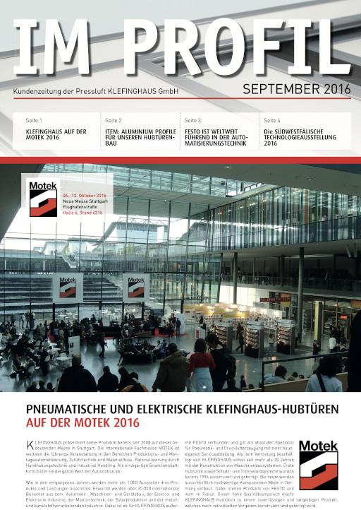 Kundenzeitung 09/2016