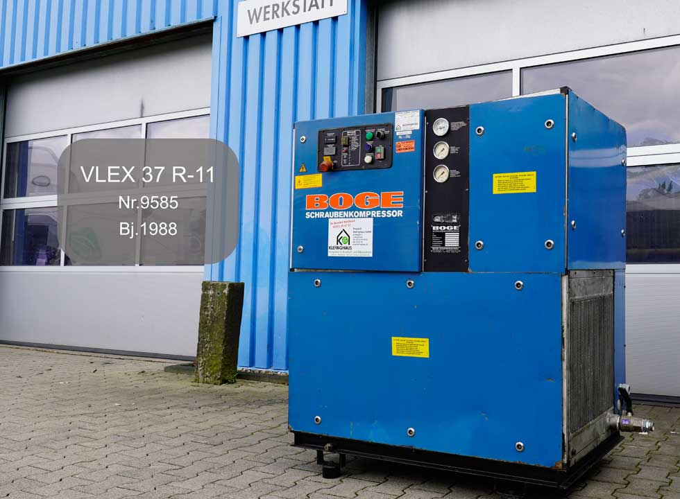 Boge Schraubenkompressor VLEX 37 R-11